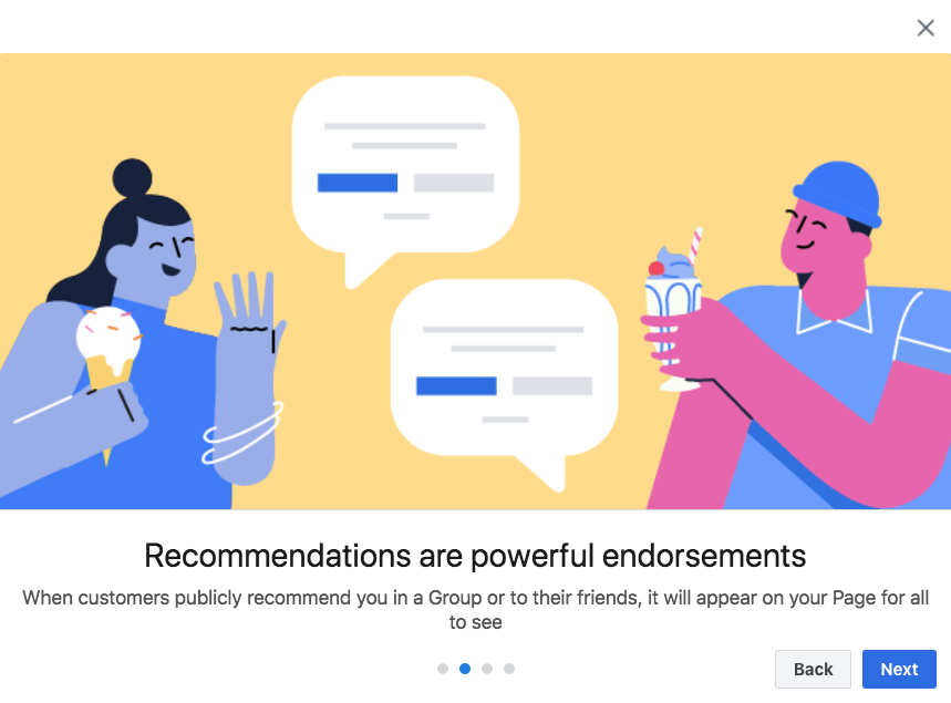 Recommendations are Powerful endorsements